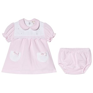 Image of Mintini Baby Pink Dress and Bloomers 6 mdr (2947789661)