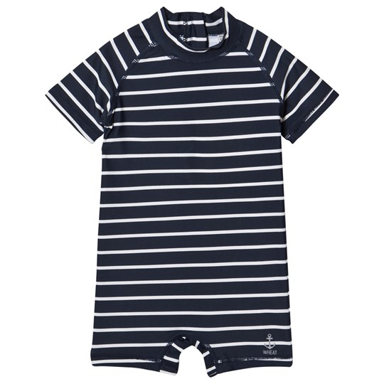 Wheat Baby Cas Swimsuit Navy Navy