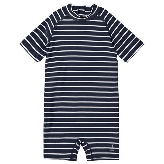 Wheat Cas Swimsuit Navy Navy