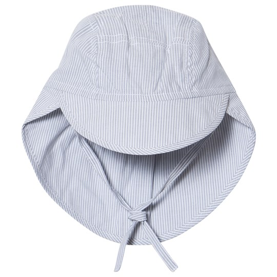 Wheat Baby Sun Hat Ocean Blue Ocean Blue