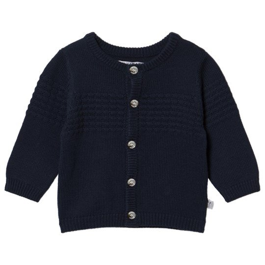 Wheat Sailor Knit Cardigan Navy Marinblå