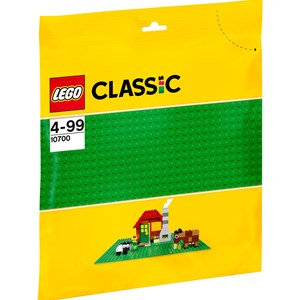 Image of LEGO Classic 10700 LEGO® Classic Green Baseplate 4+ years (2947788833)