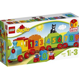 Image of LEGO DUPLO 10847 LEGO® DUPLO® Number Train 12 months - 3 years (2947789035)
