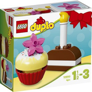 Image of LEGO DUPLO 10850 LEGO® DUPLO® My First Cakes 12 months - 3 years (2947789037)