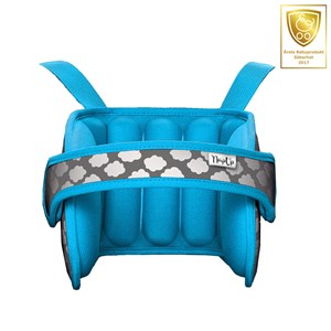 Image of NapUp Sleepsupport for children in carseat Blue 2018 One Size (1036398)