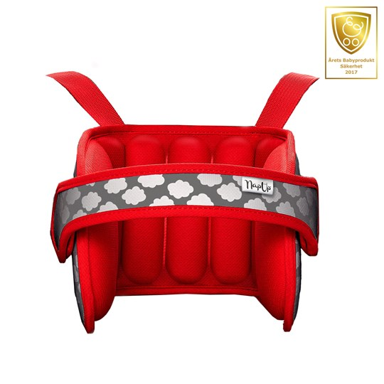 NapUp Sleepsupport for children in carseat  Red 2018 Red