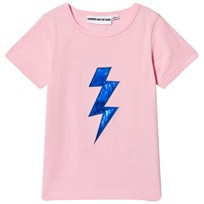 Gardner and the gang The Cool Tee Bolt Applique Light Pink Light Pink