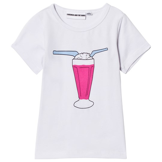 Gardner and the gang The Cool Tee Milkshake White White