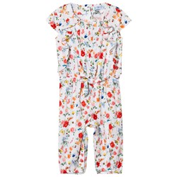 Mayoral Flower Printed Jumpsuit