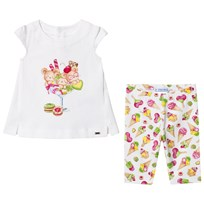 Mayoral Graphic Tee and Ice Cream Print Leggings Set 64