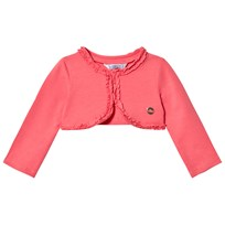 Mayoral Coral Pink Jersey Cardigan 85