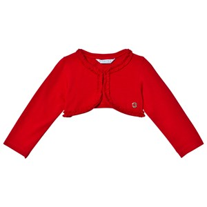 Image of Mayoral Red Jersey Cardigan 18 months (3065507307)
