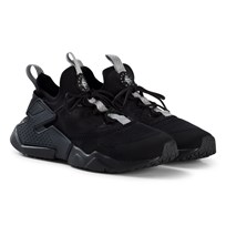 NIKE Black and Grey Nike Huarache Run Drift Shoes 001