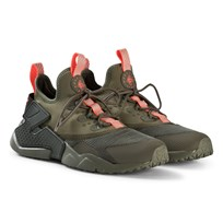 NIKE Olive Green Nike Huarache Run Drift Shoes 200