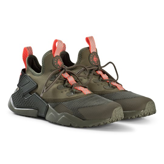 6ebe0ba62f3 NIKE - Huarache Run Drift Junior Sneakers Olive Green - Babyshop.com