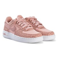 NIKE Pink Nike Air Force 1 Pre School Shoes 600