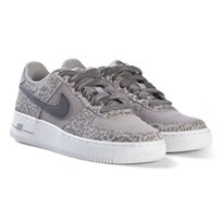 NIKE Grey and White Nike Air Force 1 Shoes 001