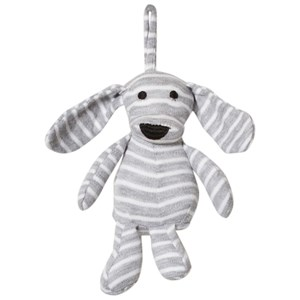 Image of Geggamoja Mini Doddi Light Grey Mel/White (2950171225)