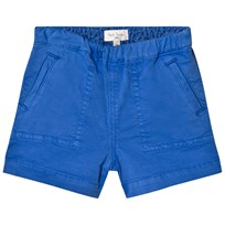 Paul Smith Junior Blue Zebra Branded Chino Short 450