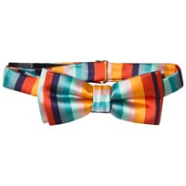 Paul Smith Junior Multi Artist Stripe Bow tie 92