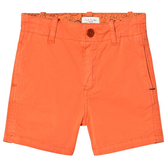 Paul Smith Junior Orange Chino Shorts 761