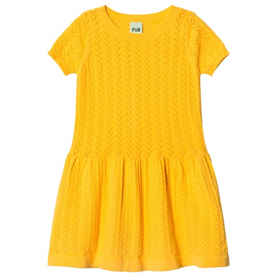 FUB Dress Yellow Yellow