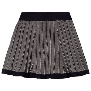 Image of FUB Knitted Skirt Navy/Ecru 120 cm (6-7 år) (2951623633)