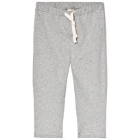 Gray Label Relaxed Jersey Pants Grey Melange Grey Melange