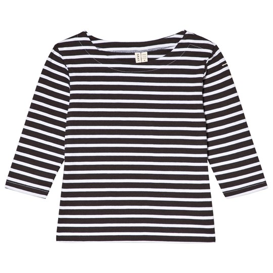 Gray Label Long Sleeved Striped Tee Nearly Black/White Stripe NEARLY BLACK/WHITE STRIPE