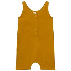 Gray Label Romper Mustard