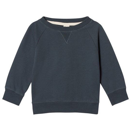 Gray Label Crewneck Sweater Blue Grey BLUE GREY