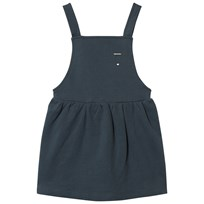 Gray Label Pinafore Dress Blue Grey BLUE GREY