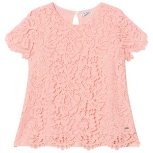 Image of Mayoral Pink Lace Top 12 years (2951623231)