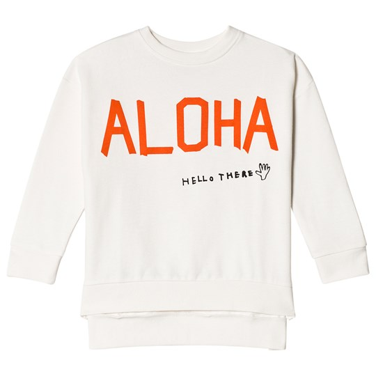 Beau Loves Square Sweater Aloha Kind Heart Aloha Black & Red
