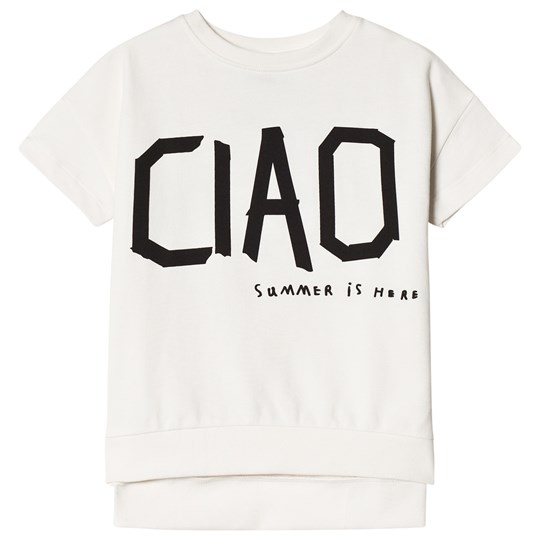 Beau Loves Short Sleeved Square Sweater Ciao Ciao Black