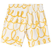 Beau LOves Shorts Loop Loop AOP Yellow