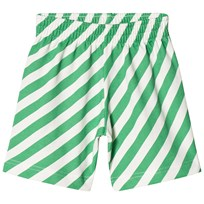 Beau LOves Shorts Diagonal Stripes Diagonal Stripes AOP Green