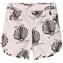 Beau LOves Shorts Chalk Blush Oyster Oyster Black