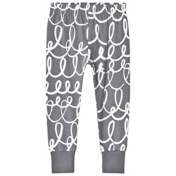 Beau Loves Slim Pants Charcoal Loop Chalk