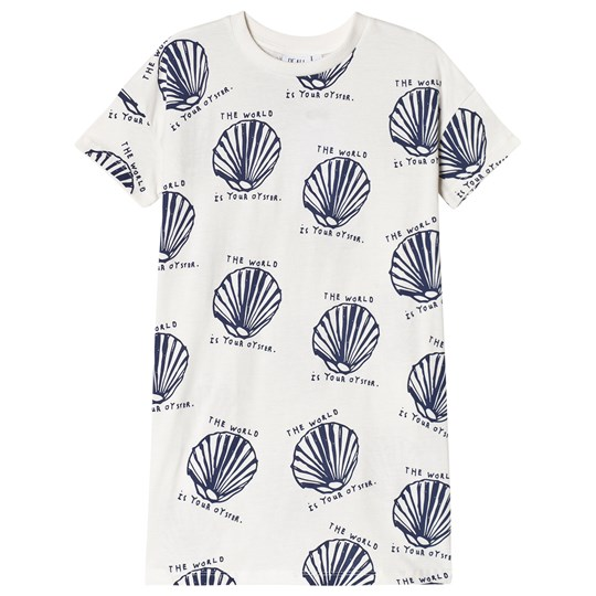 Beau Loves T-shirt Dress Oysters Oysters AOP,