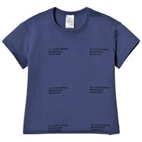 Tinycottons Le Concierge Tee Light Navy/Navy light navy/navy