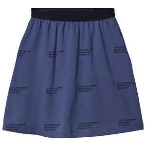 Image of Tinycottons ´Le Concierge´ Mid-Length Skirt Light Navy/Navy 2 år (1057578)