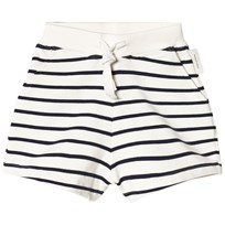 Tinycottons Randiga Shorts Off-White/Marinblå off-white/navy