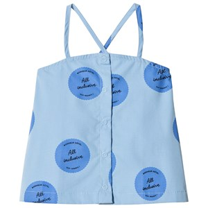 Image of Tinycottons All Inclusive Top Light Cerulean Blue/Cerulean Blue/Navy 2 år (2951622565)