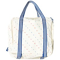 Tinycottons Backpack Off-White/Cerulean Blue/Carmine off-white/cerulean blue/carmine