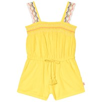 Billieblush Yellow Playsuit with Crochet Lace Straps 548