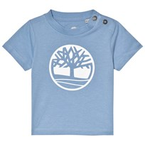 Timberland Light Blue Tree Logo Tee 927