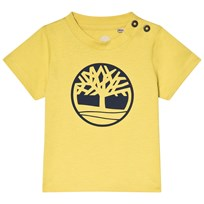 Timberland Lime Green Tree Logo Tee 613