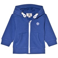 Timberland Royal Blue Logo Zip Hoody 861