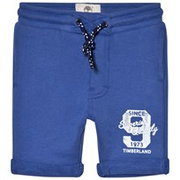 Timberland Royal Blue Branded Sweat Shorts 861